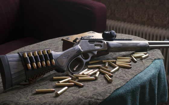 оружие, guns, патроны, marlin, оружия, винтовка,