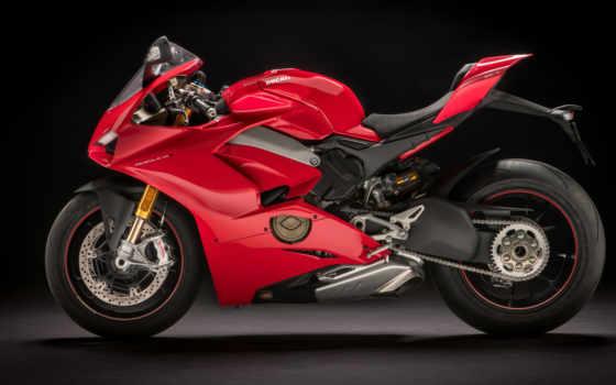 panigale, ducati, new, мотоциклы, red, сбоку, superbike, eicma, дукати, black,