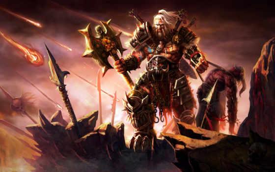 варвара, diablo, вихрь, злость, множество, wasteland, раненый, ободранный, build, season