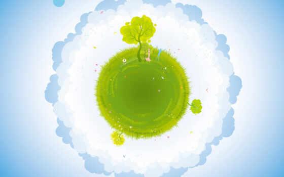 planet, зелёный