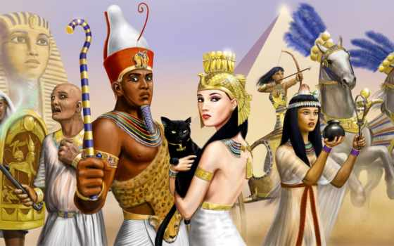фараон, клеопатра