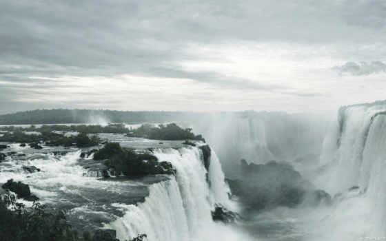 world, waterfalls