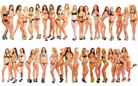women, devushki, underwear, дек,