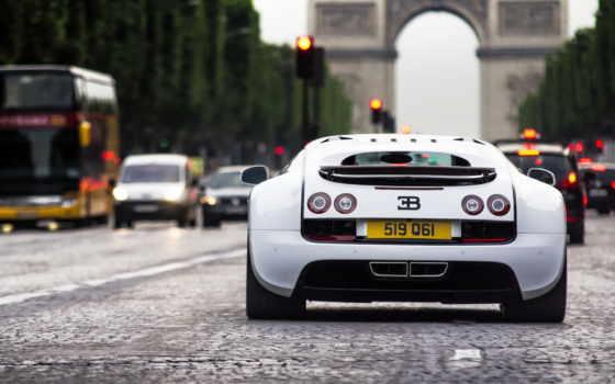 arc, париж, triomphe, bugatti, veyron, франция, улица, rue, images,