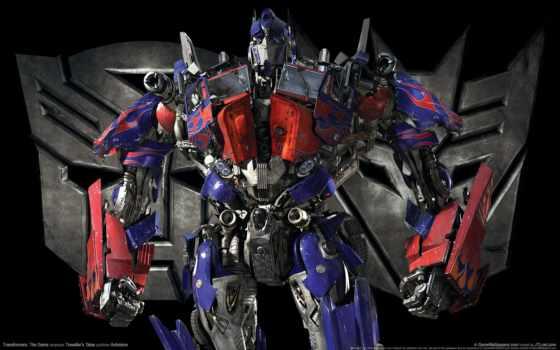 transformers, optimus, prime, луна, dark, game,