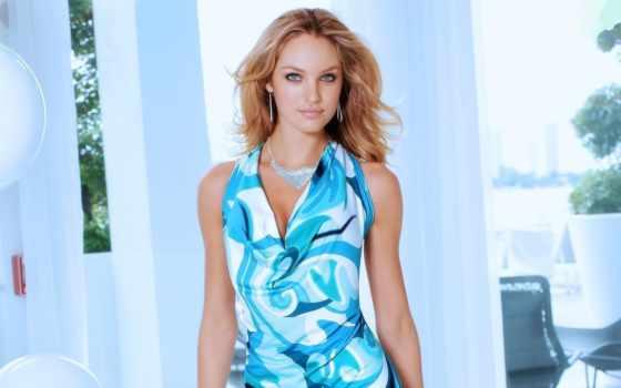 коллекция, девушка, effects, после, красивый, blue, изображение, платье, другой