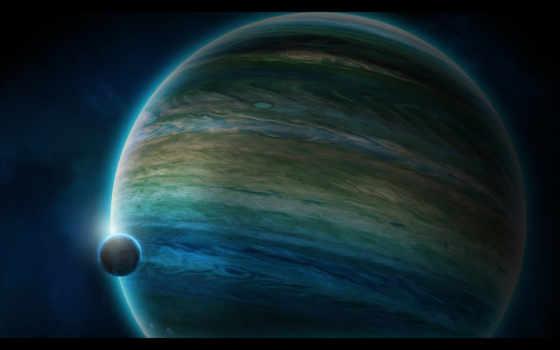 спутник, планета