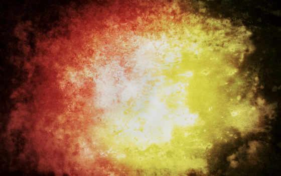 abstrakciya, огонь, краски