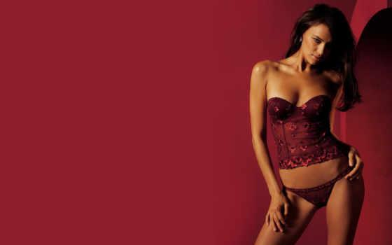 devushki, sexy, girls, девушка, корсет, красное белье,