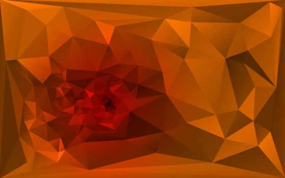 фон, polygonal