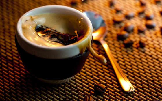 coffee, spoon, напиток, cup,