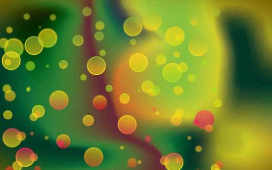 яркие, абстракция, графика, пузыри, картинка,