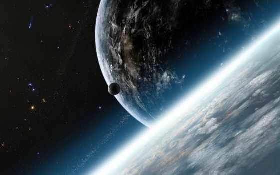 планеты, cosmos, спутник,