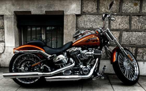 мотоцикл,  harley-davidson,  llc, крейсер,