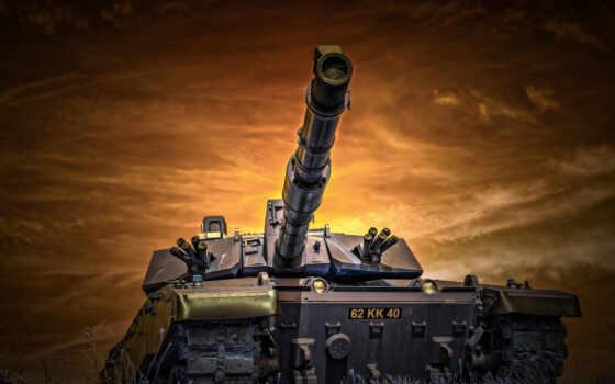 оружие, have, армия, военный, череп, танк, краска, листь