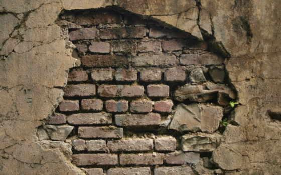 стена, brick, pattern