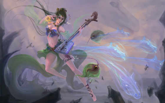 peacock, магия, фэнтези