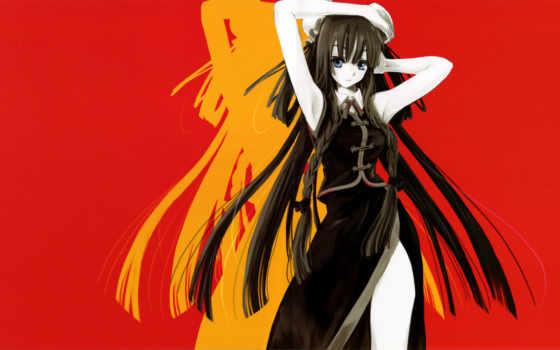 anime, девушка, free, desktop,