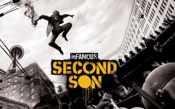 second, son, infamous