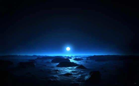 красивые, ночь, оригинальные