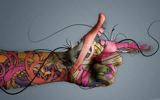 рука, креатив, free