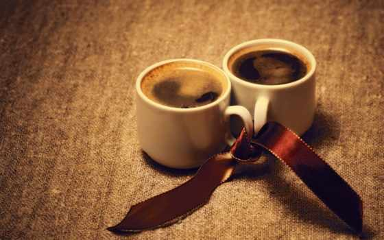 coffee, чашки, две