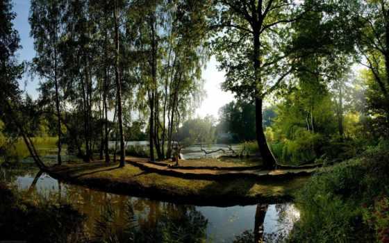 summer, garden, красивые, природа, тематика, качественные, water, остров, рай,