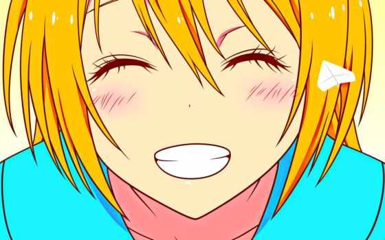 chitoge, kirisaki, anime