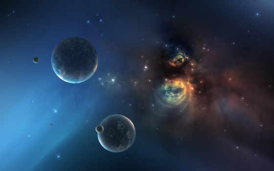 планеты, космос, later, million, звезды, years, planet, nebula, star, starfield, universe, desktop, wormhole, resolution, tags, картинка,