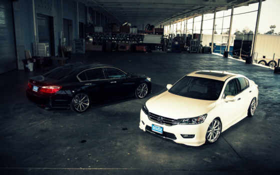 honda, accord, white, galpin, black, wheels, wossen, марта,
