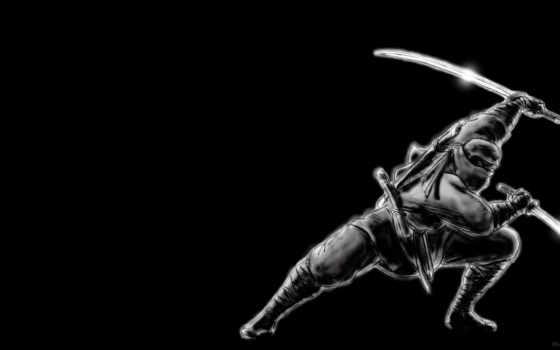 dark, full, free, ninja, desktop, wallpapersafari,