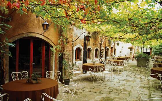 italy, италии, римини, кафе, столики,