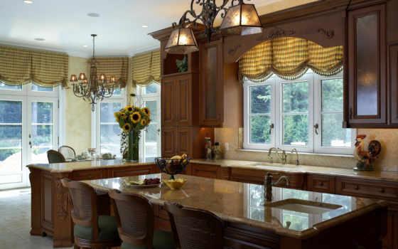 шторы, кухни, кухню, короткие,