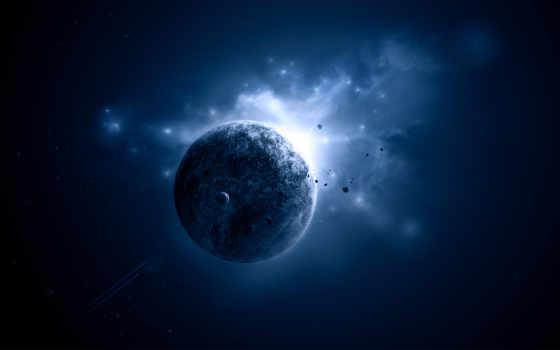 cosmos, planet, свет