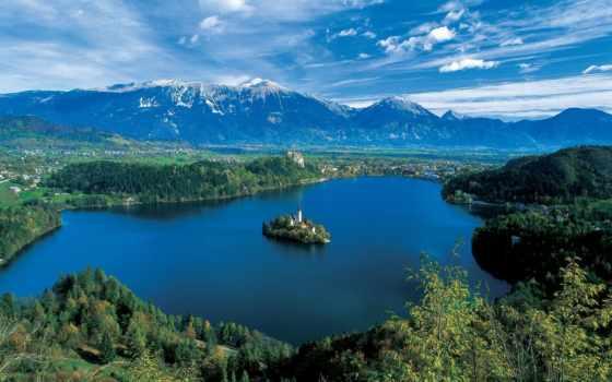 slovenia, ljubljana, bled, столица, озеро, region, город,