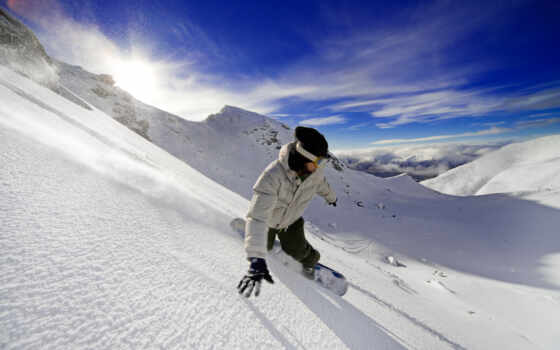 snowboarding, winter