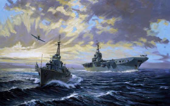 море, корабль, корабли