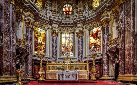 cathedral, berlin, германия, фото,
