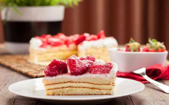 торт, мороженое, slice, десерт, вишенка, candy,