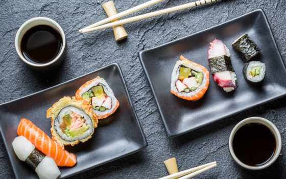 sushi, порция, блюдо