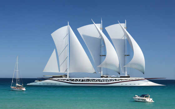 яхта, море, шикарное, судно, парусное, катер, phoenicia, concept, финикия, sailboats,