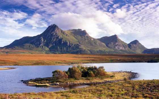 горы, красивые, древние, mount, мира, гор, фотоарт,
