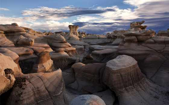 new, mexico, krajobrazy, bisti, naturaleza, paisajes, wilderness, скалы,