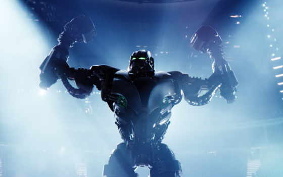 real, стальной, живая, robot, zeus, робота,