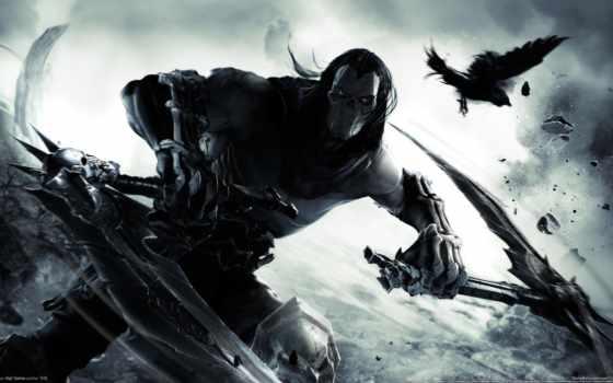 смерть, darksiders, horseman, апокалипсис, четверо, game, new, фольклор,