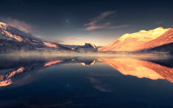 landscape, scenery, озеро, ultra