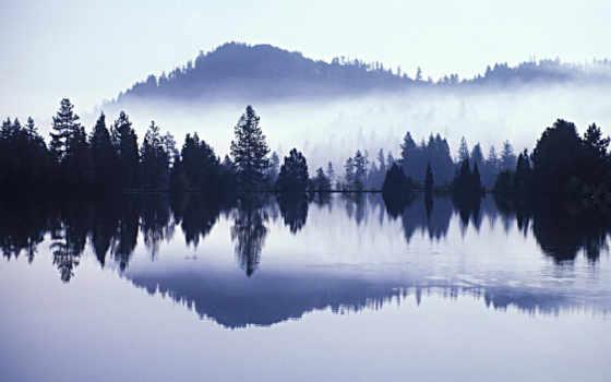 утро, вода Фон № 12486 разрешение 1920x1200