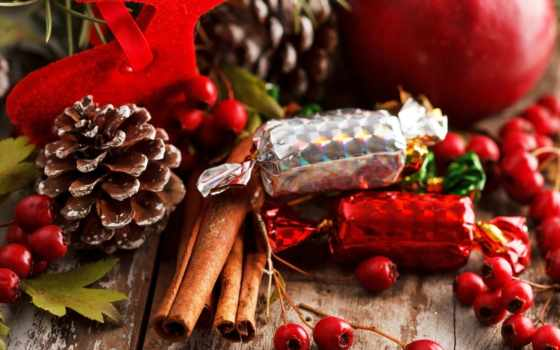 конфеты, еда, cinnamon, шишки, sweets,