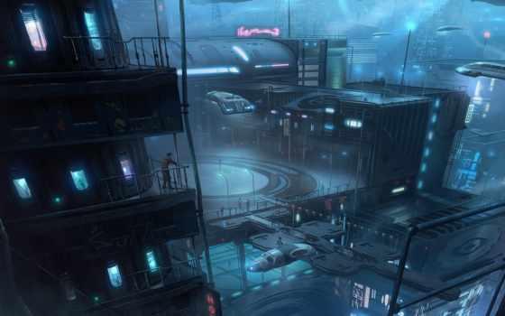 город, art, будущее