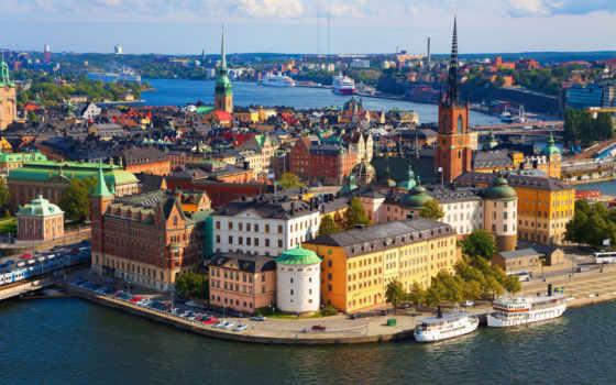 stockholm, крыши, если